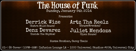 The House of Funk Jan 5th