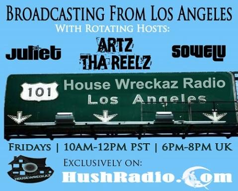 2014 HouseWreckaz Radio Show (500x400)